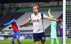 [오피셜] '2 Goals 2 Helps'Kane, Palace를 상대로 MOTM 선정 … 64 % 압도적 투표